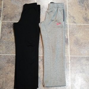 Nike / Champion 2 pairs athletic pants sz s/m